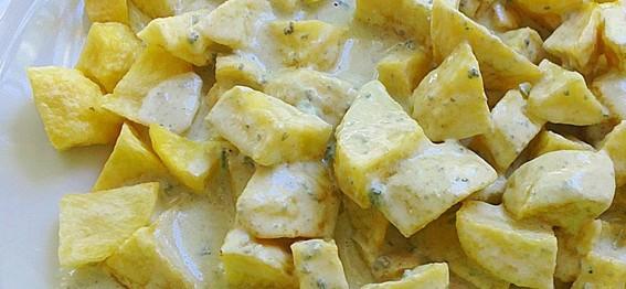 Patatas Fritas Con Salsa De Cabrales Porque Yo Lo Guiso