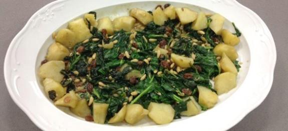 espinacas con patatas Thermomix