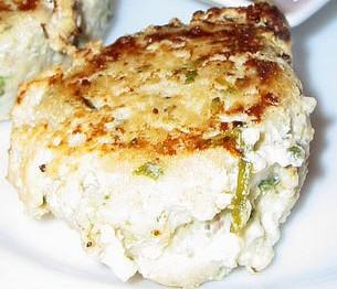 pastel de pescado y gambas
