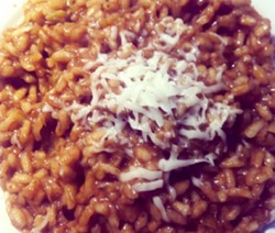 Risotto de puerros y curry copia