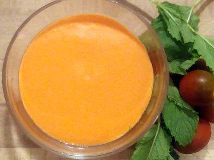 Sopa fria de tomate