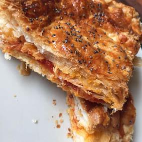 Empanada de hojaldre