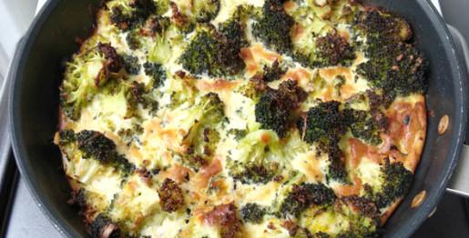 Frittata de brocoli